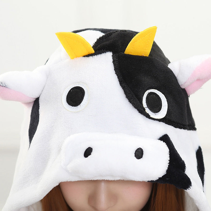 Hot Sale Cow Character Women Pajamas Unisex