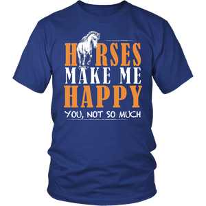 Horse make me happy, you not so much