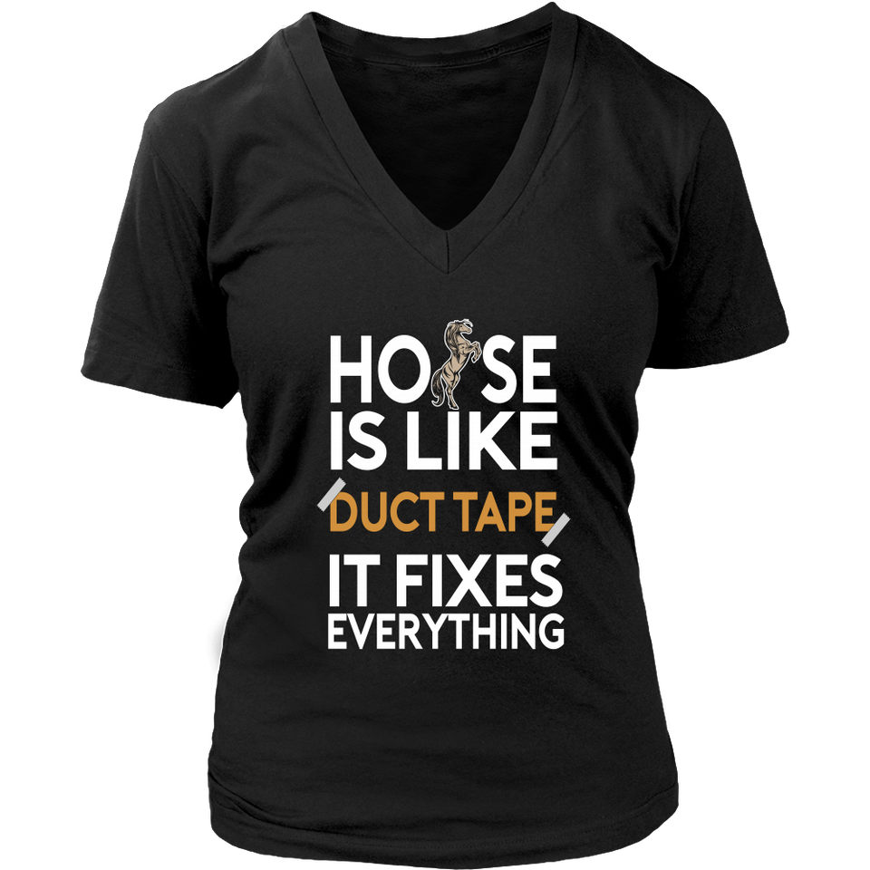 Horse Is Like Duct Tape