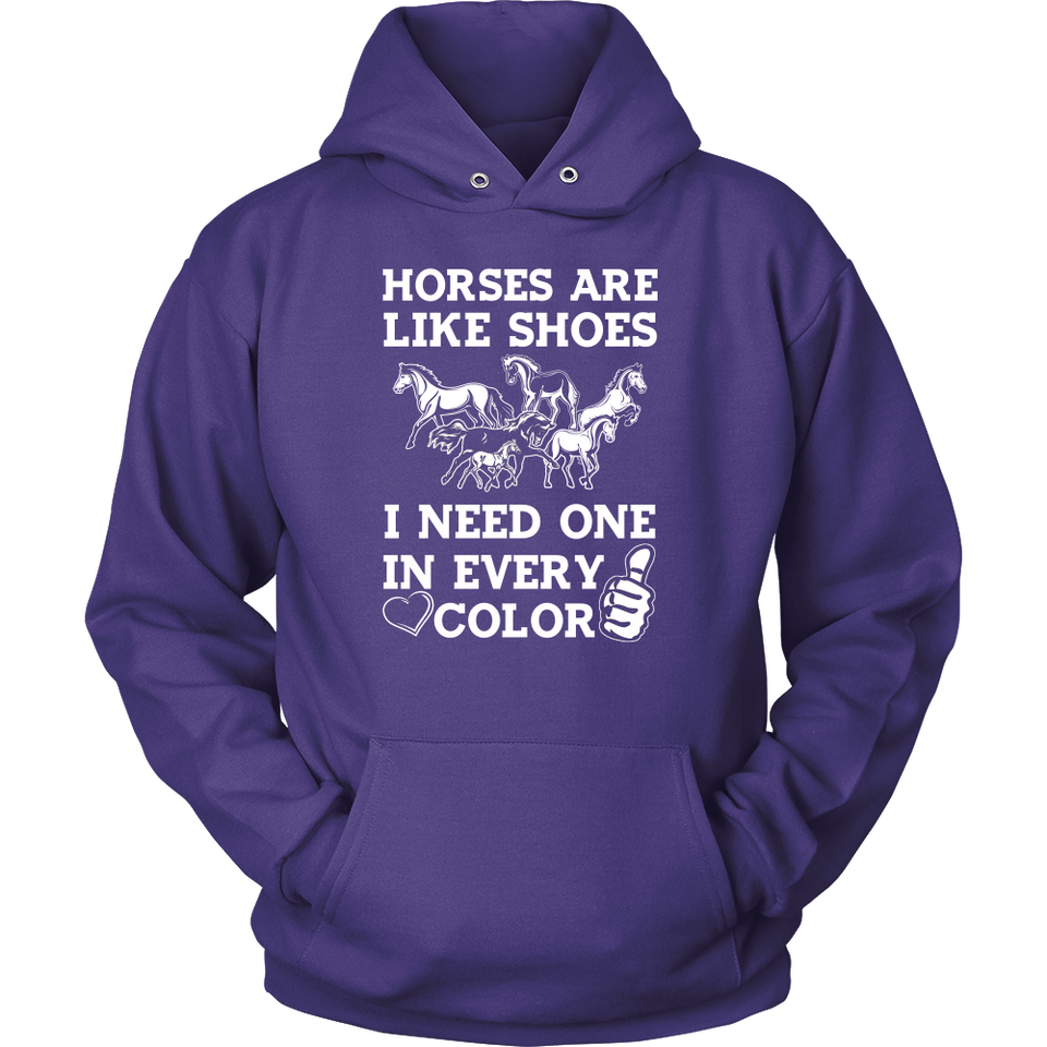 Horses Are Like Shoes