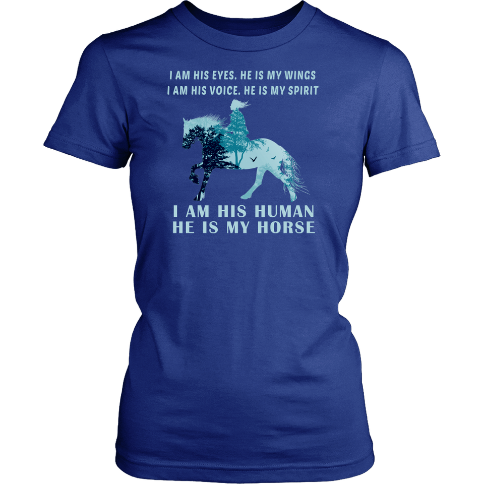 HE IS MY HORSE