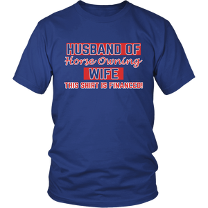 Husband Of Horse Owning Wife