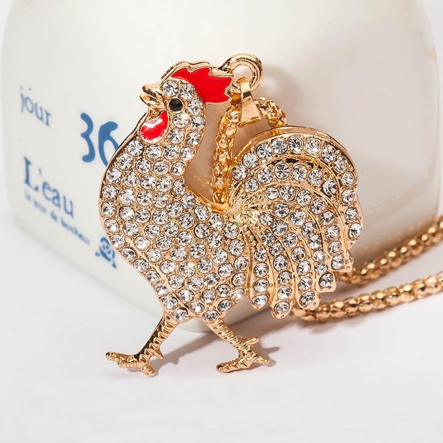 New Arrival 6 Kinds Chicken Pendant Necklace for Women
