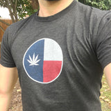 Texas Marijuana Flag T-Shirt