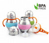 280ml Wide Neck Stainless Steel Thermal Baby Bottles