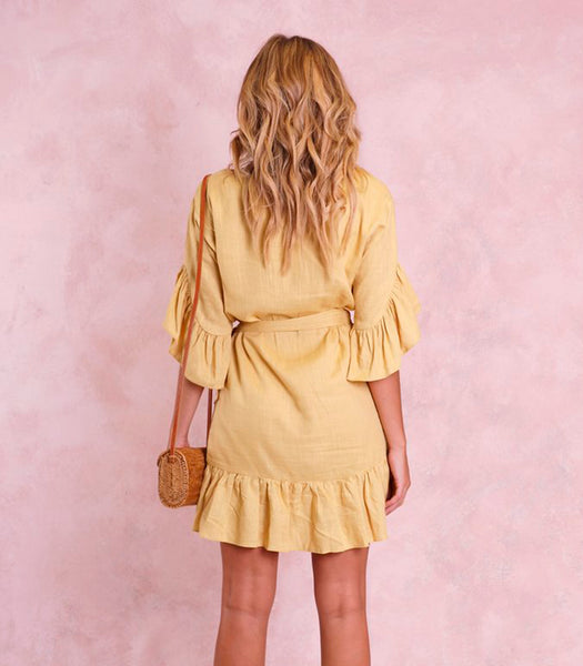 KARLIE WRAP DRESS