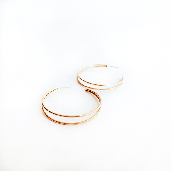Remy Gold Hoops