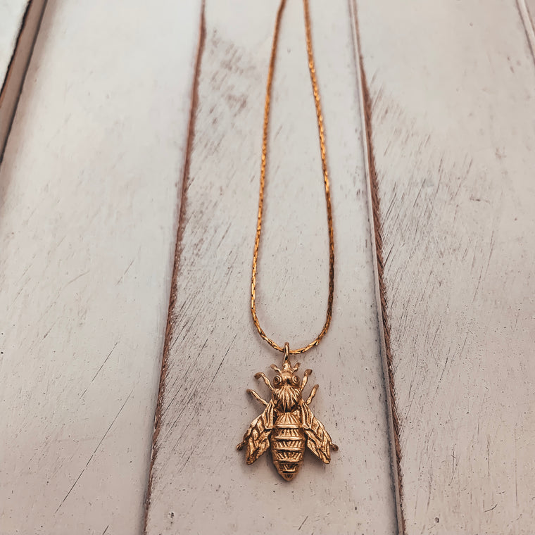 Golden Honey Necklace