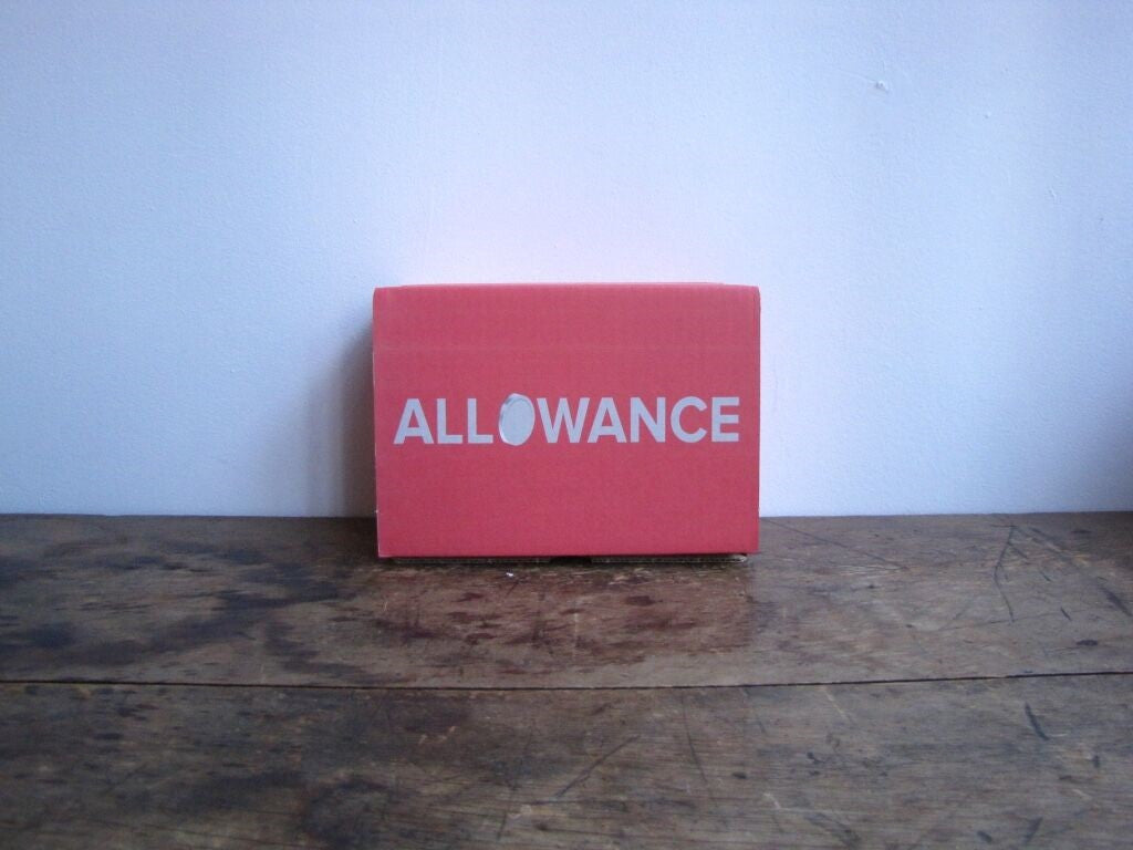 Send Allowance Box as a Gift