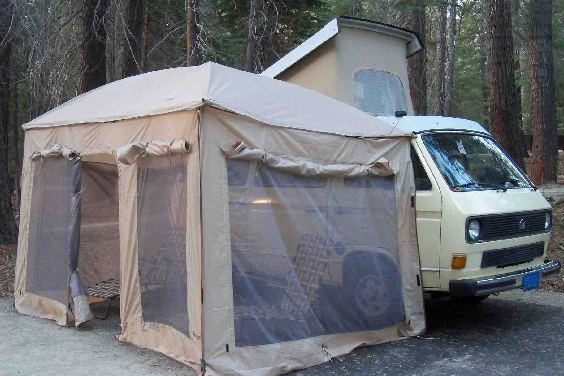 Ezy Awning Plus Front Wall