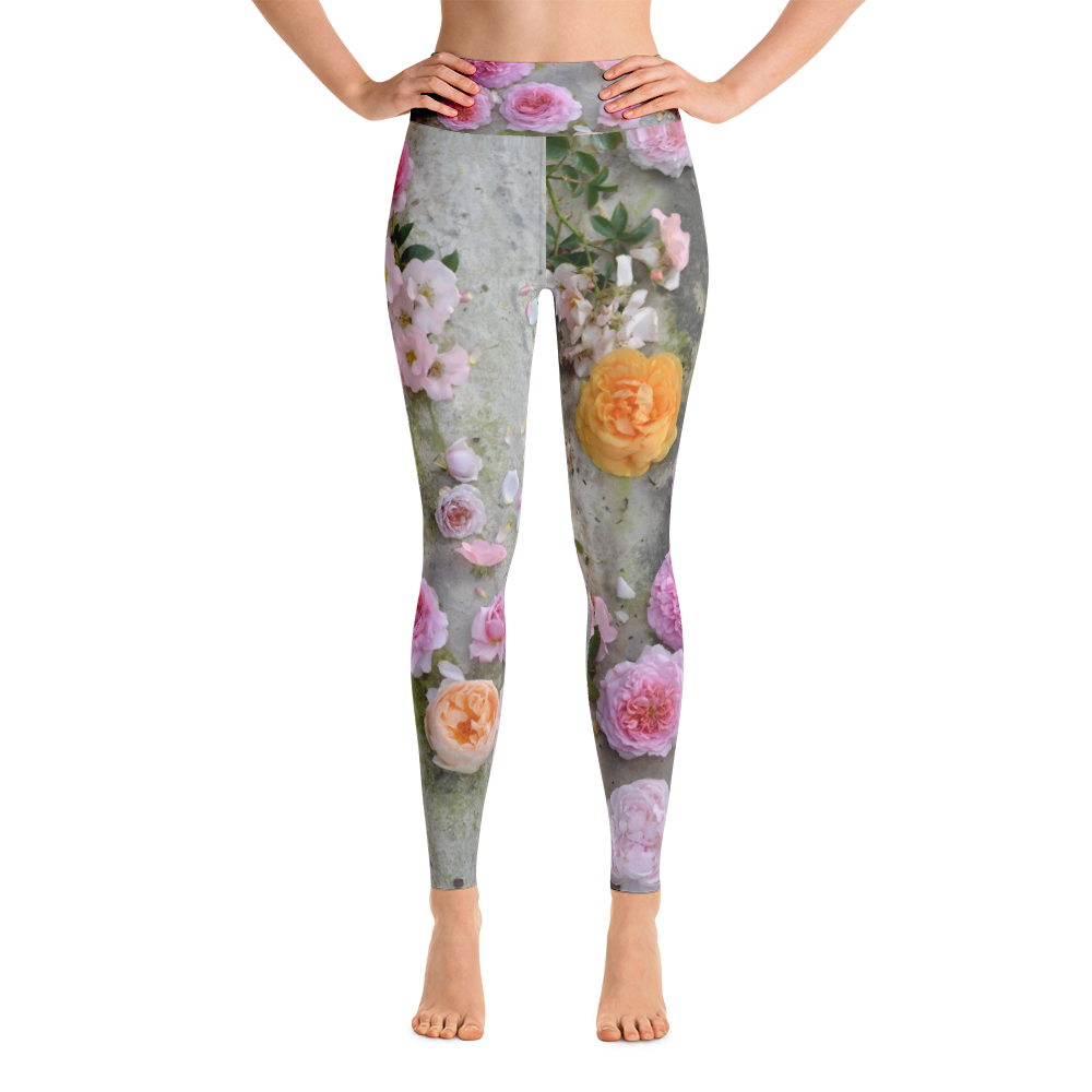 Dusty Pink Yoga Leggings