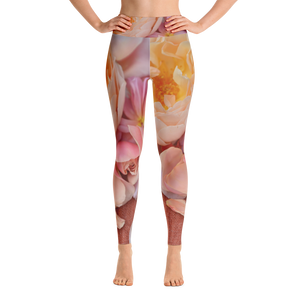 'Lemonessence' Yoga Leggings