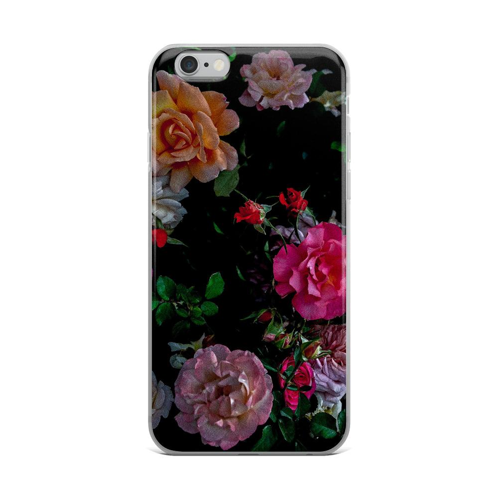 Space Floral iPhone Case