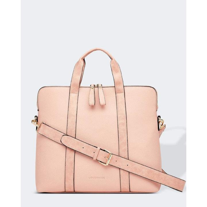 Rhodes Laptop Bag - Pale Pink