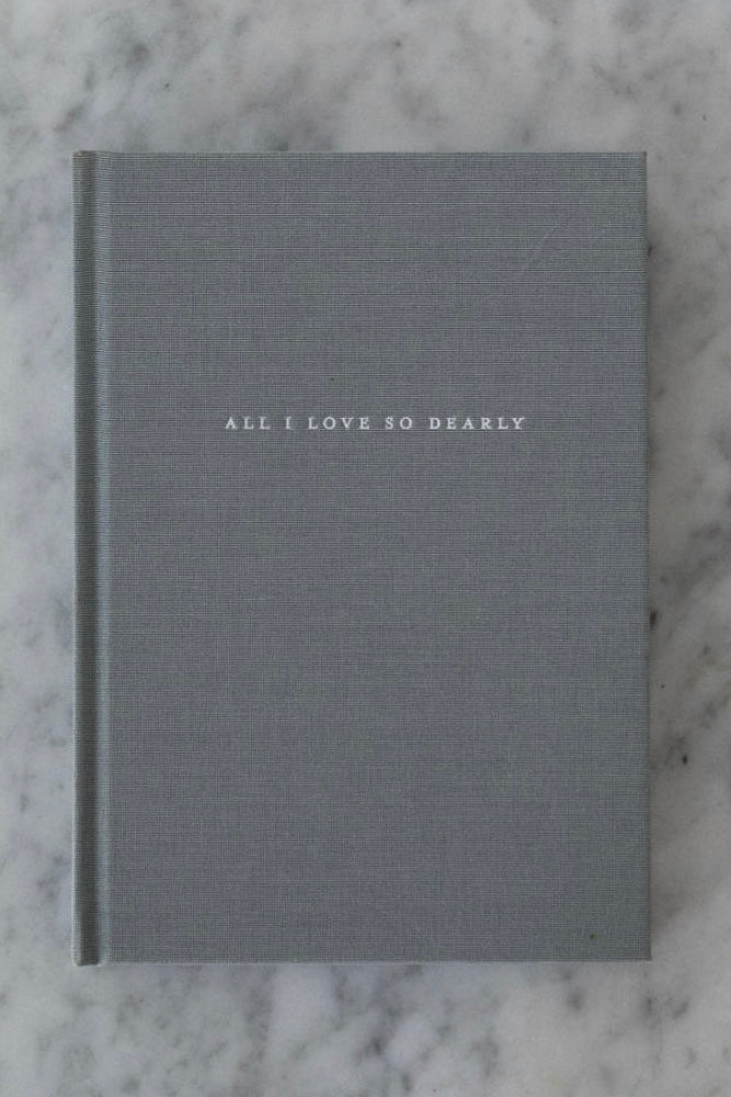 ALL I LOVE SO DEARLY Journal