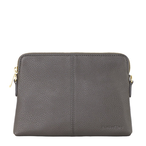 Alba Leather Clutch Mulbery