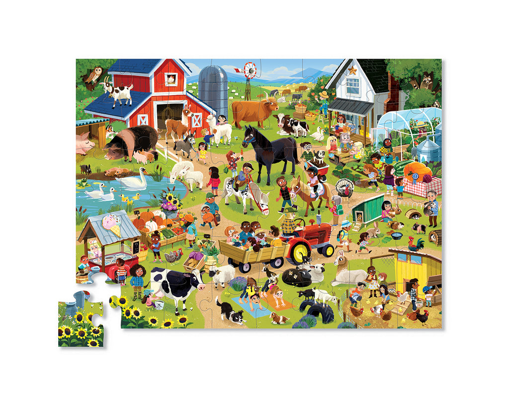 Day at the Museum Puzzle 48 pc- Farm