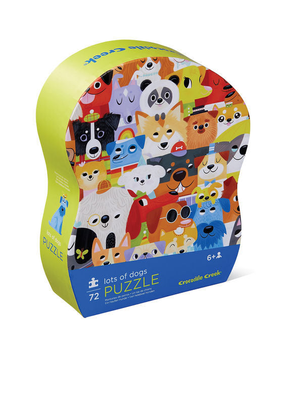 Junior Puzzle 72 pc - Lots of Dogs