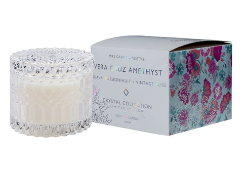 'Celebrate' Vanilla & Patchouli Scented Soy Candle