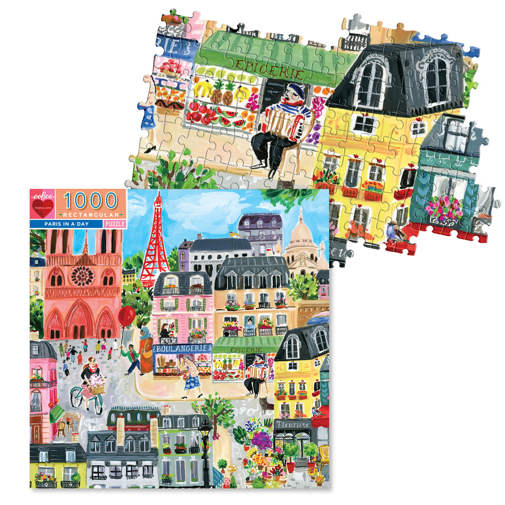1000 Pc Jigsaw Puzzle - Paris in a Day
