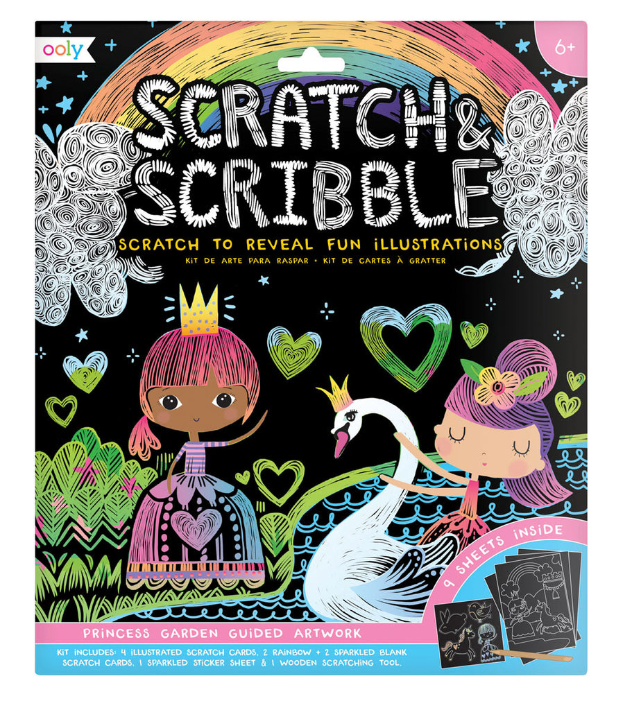 Scratch & Scribble – Princess