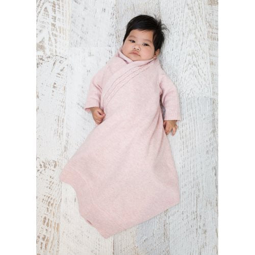 JUJOBABY  Cable Edge Shwrap™ - Pink