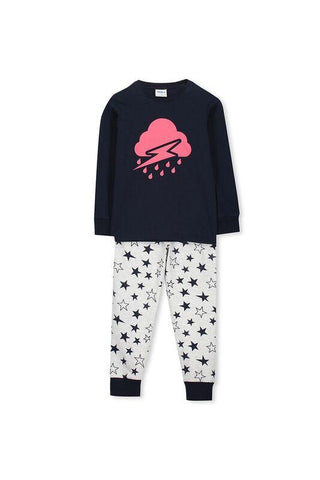 Girls Bunny Print Winter PJ