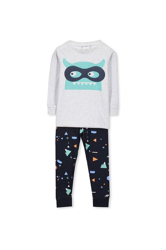 Infant Boys Monster Winter PJ