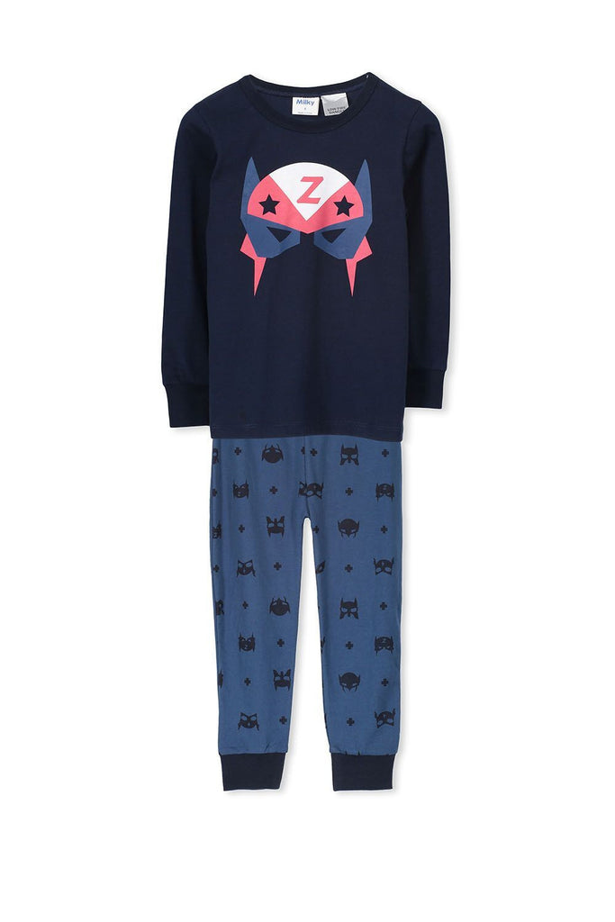 Infant Boys Superhero Winter PJ