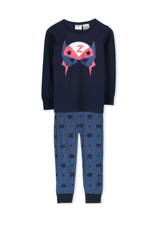 Junior Boys Moose Print Winter PJ