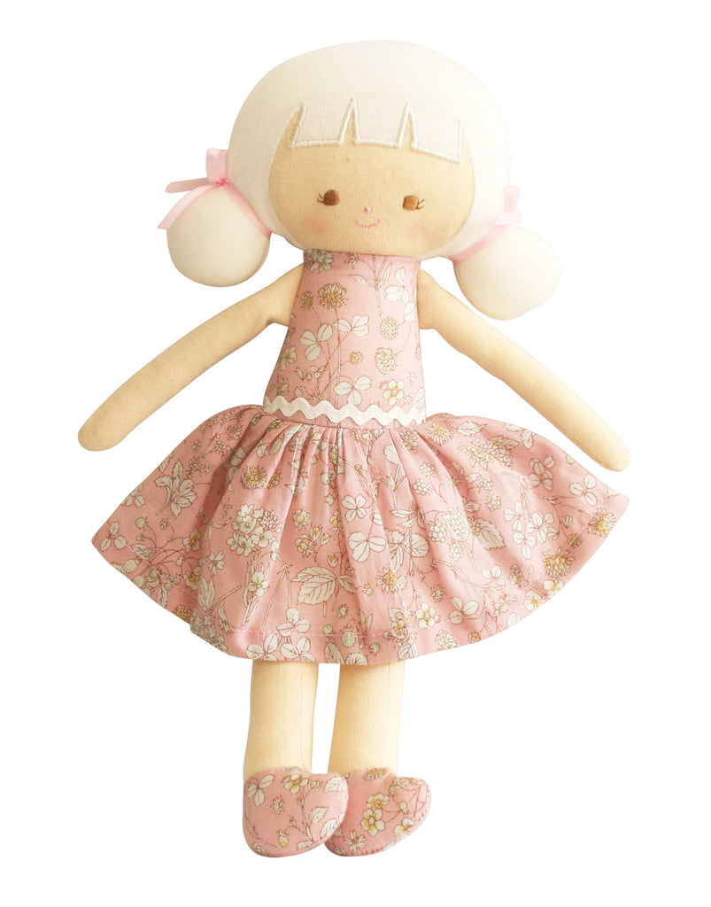 AUDREY DOLL 26CM PINK BLOSSOM