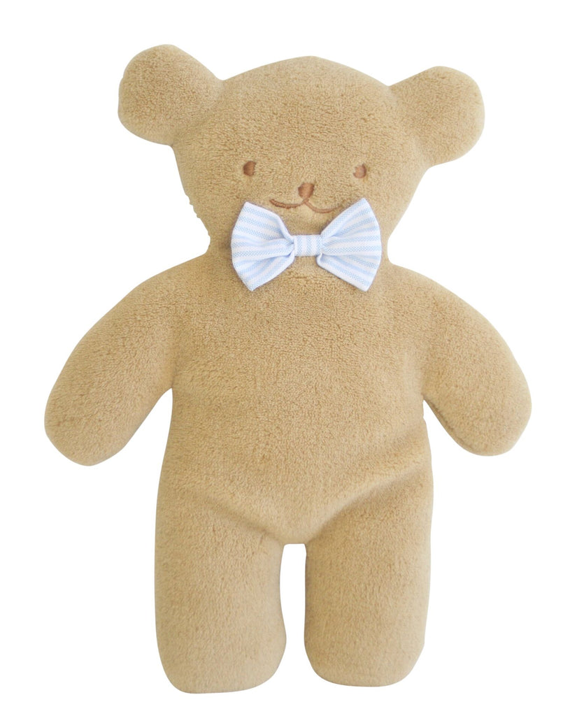 PANCAKE SNUGGLE BEAR 27CM PALE BLUE