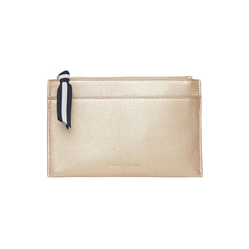 New York Coin Purse - Light Gold