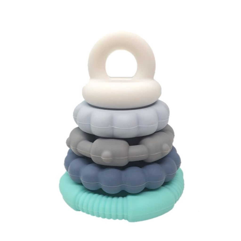 Rainbow Stacker - Silicone Teether & Toy