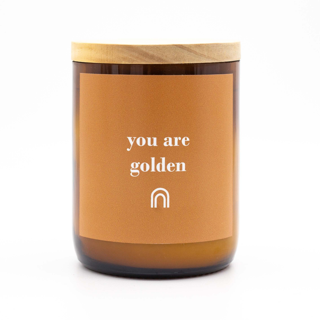 HAPPY DAYS SOY CANDLE - YOU ARE GOLDEN