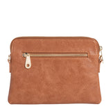 Bowery Wallet / Cross Body Bag - Tan Pebble