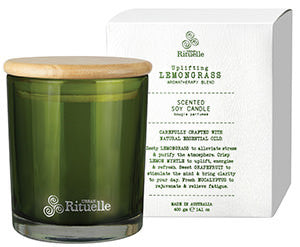 Flourish Organics Candle Lemongrass