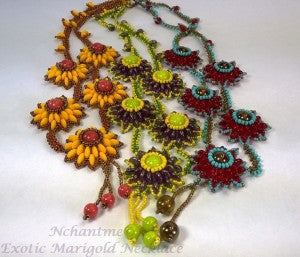 Exotic Marigold Necklace with logo 2