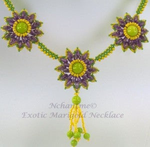 Exotic Marigold Necklace with logo 6