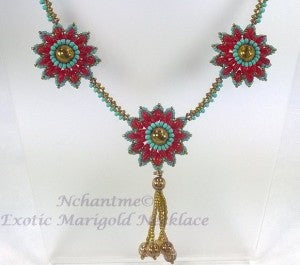 Exotic Marigold Necklace with logo 7