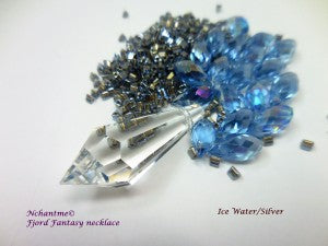 Fjord fantasy Necklace ice water 1
