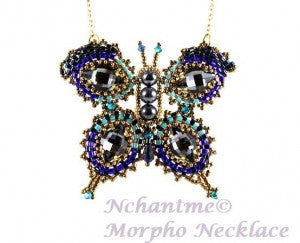 Morpho Necklace with logo 1