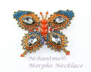 Morpho Necklace with logo 3