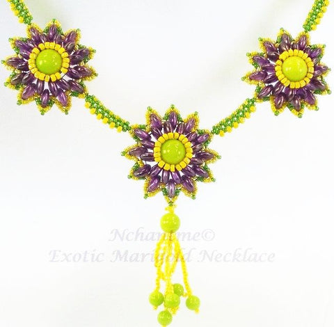 Exotic Marigold Necklace Kit