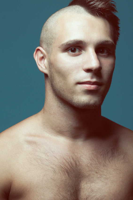 Man with Head shaved - Male Grooming Ideas with Men's Botanics