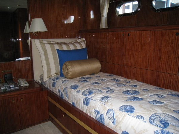 david custom furniture and yacht draperies drapery bedding bed s workroom