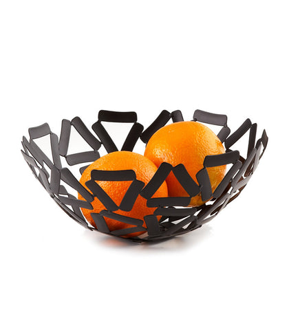 Black Round Basket
