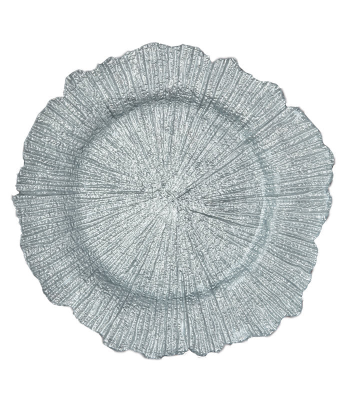 Sea Sponge Glass Charger