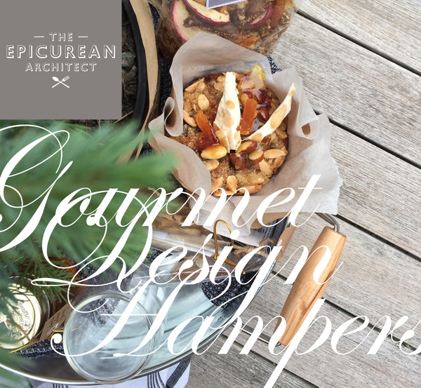 On the first day of Christmas my true love gave to me a hamper from the Epicurean Architect