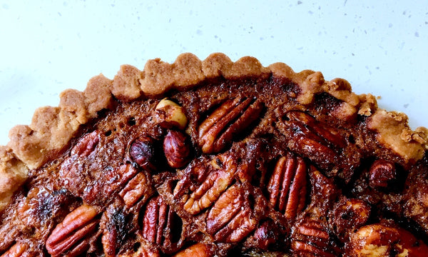 Time for giving thanks.....and pecan pie!